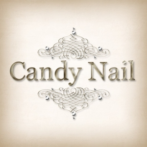 logo white Candy Nail